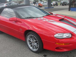 2002 Chevrolet Camaro SS 35TH Anniversary