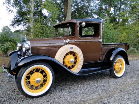 """1930 Ford Model """"a"""" Pickup Truck"""