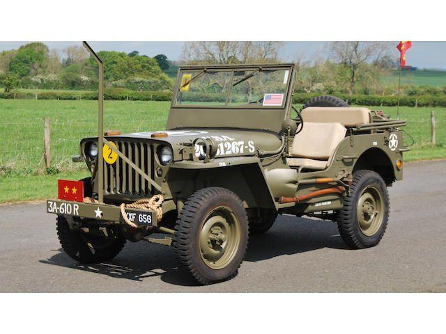 1944 Willys Jeep 4X4 Light Utility