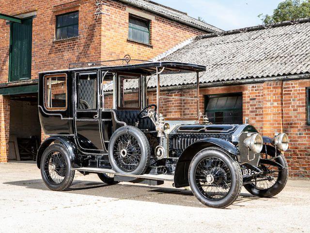 1908 Napier 45HP Type 23 Six-Cylinder Open Drive Limousine