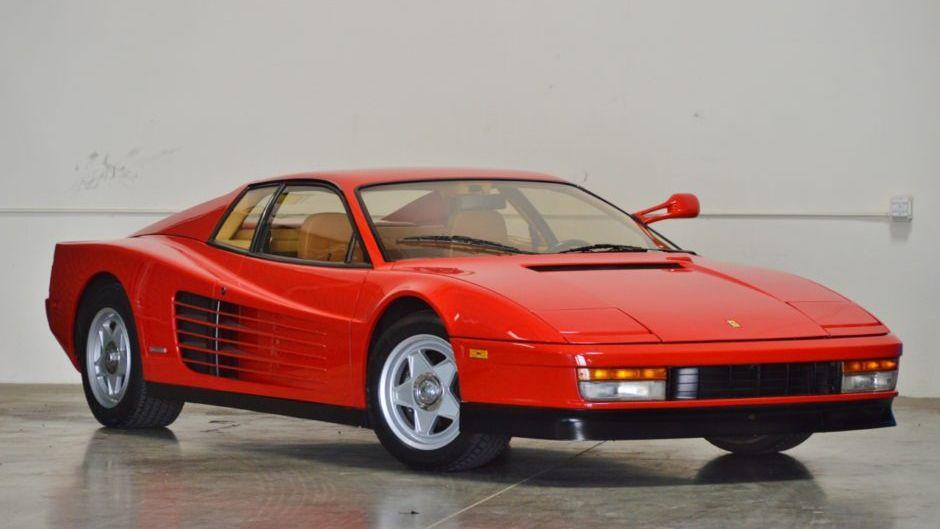 1986 Ferrari Testarossa Vin Zffsa17a9g0062177 Classic Com