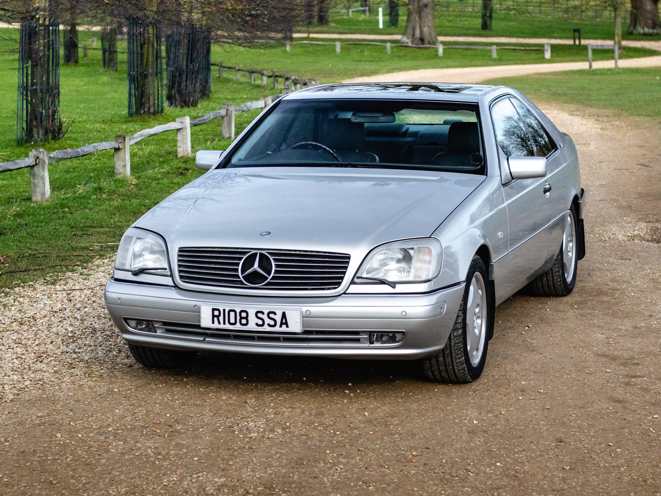1998 Mercedes-Benz Cl 600