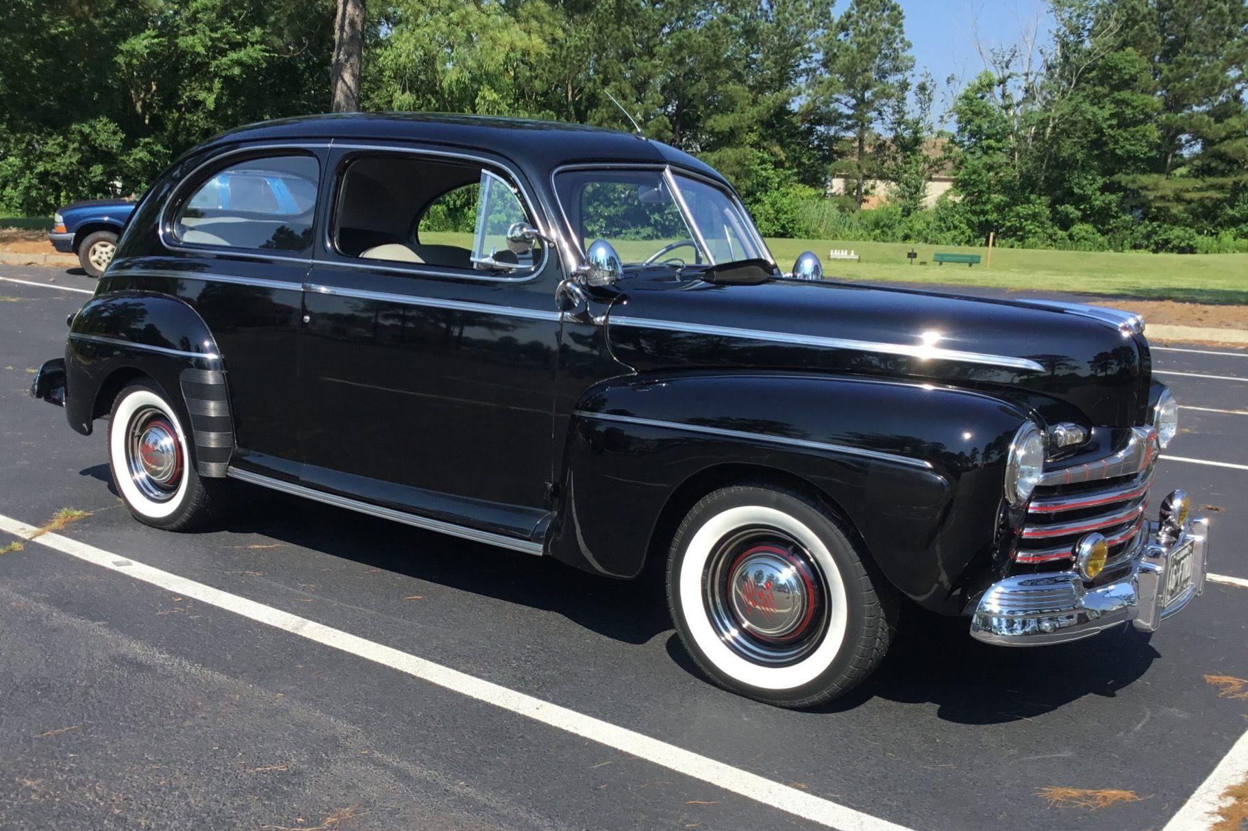 1946 Ford Super Deluxe Tudor Sedan V8 Vin 99a914317 Classic Com