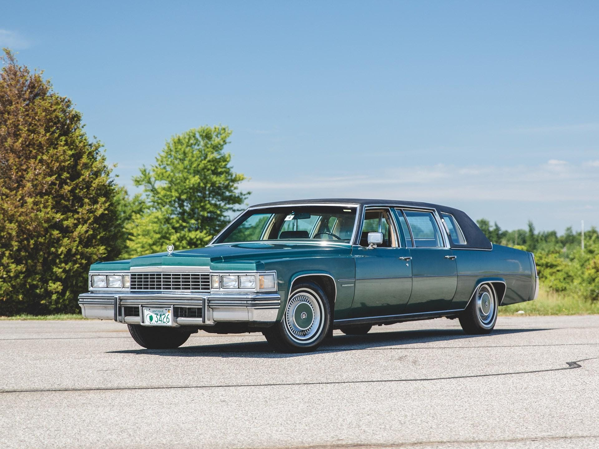 1977 Cadillac Fleetwood 75 Formal Sedan