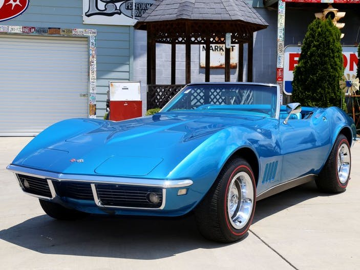 1968 Chevrolet Corvette Numbers Matching