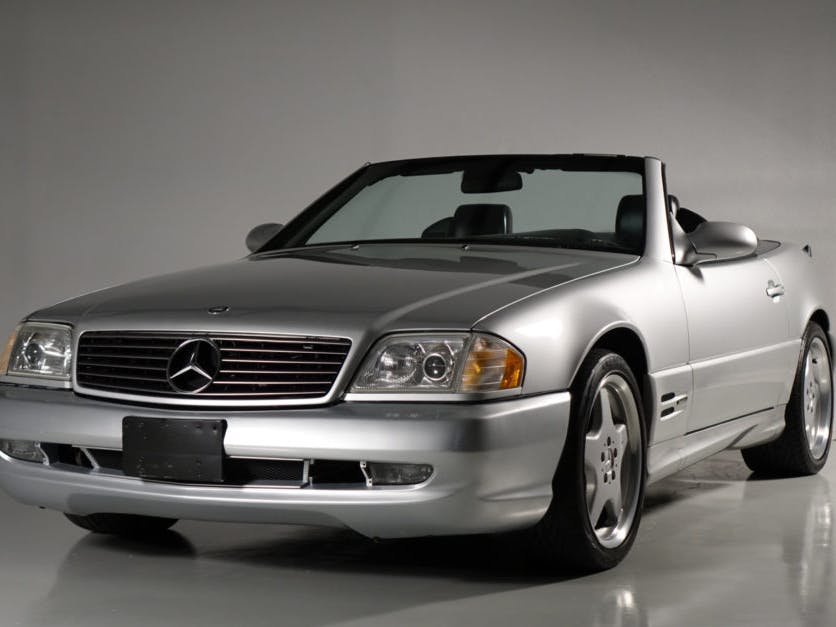 2000 Mercedes-Benz SL500 AMG Sport Package