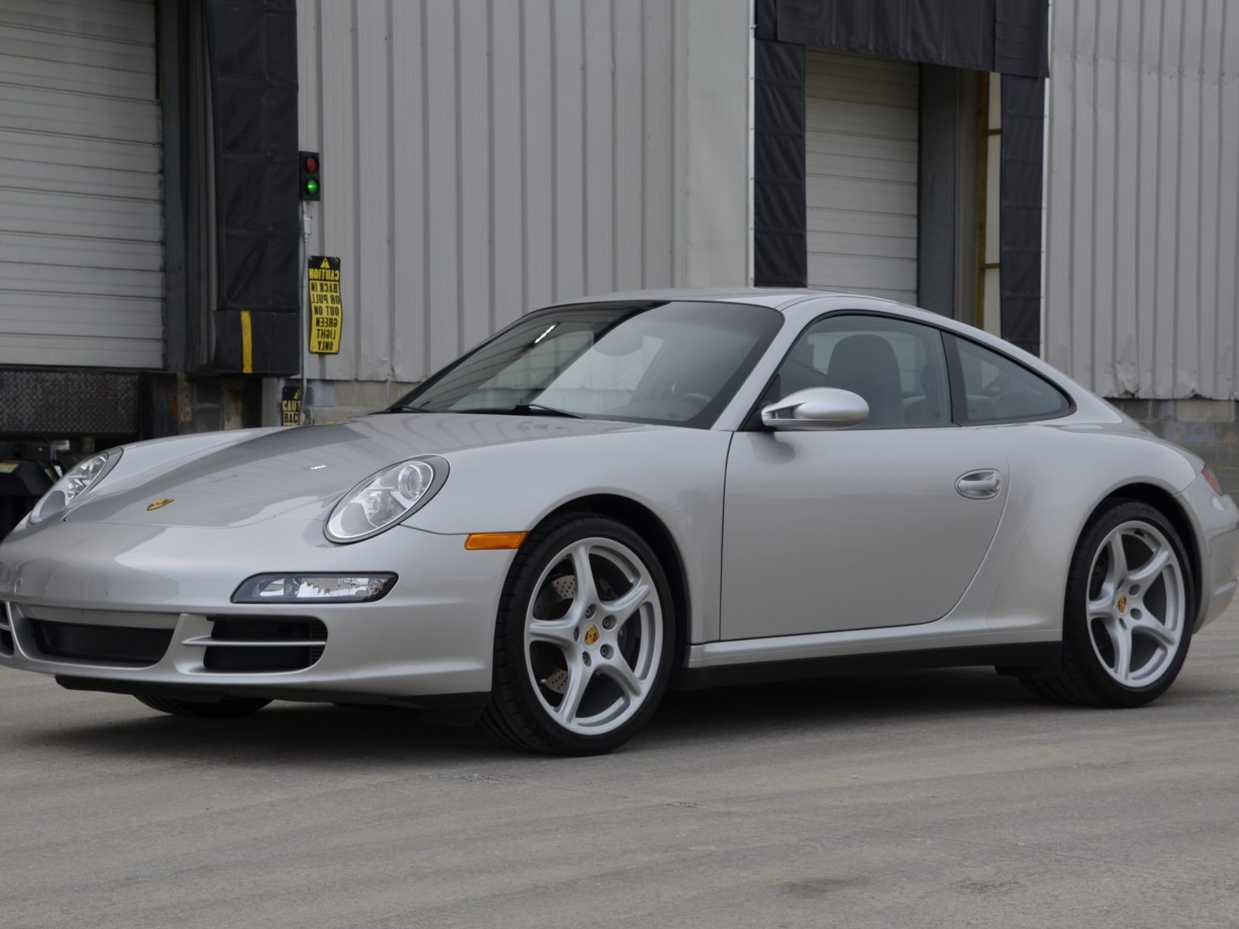 2007 Porsche 911 Carrera 4 Coupe 6-Speed