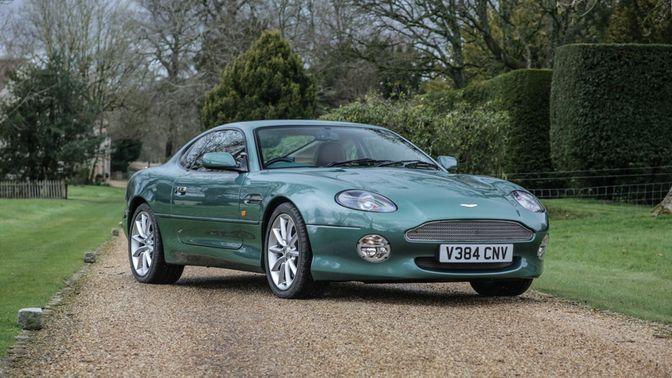 1999 Aston Martin DB7 Vantage