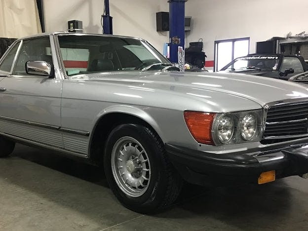 1981 Mercedes-Benz 380SL Convertible