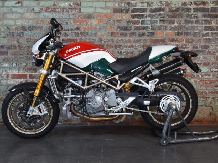 2008 Ducati Monster S4R S Tricolore
