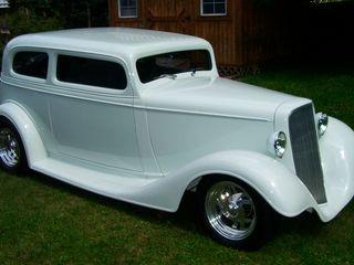1934 Chevrolet Custom Sedan