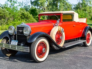 1929 Stutz Model M Cabriolet Project