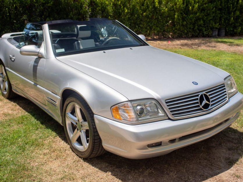 2002 Mercedes-Benz SL500 Silver Arrow