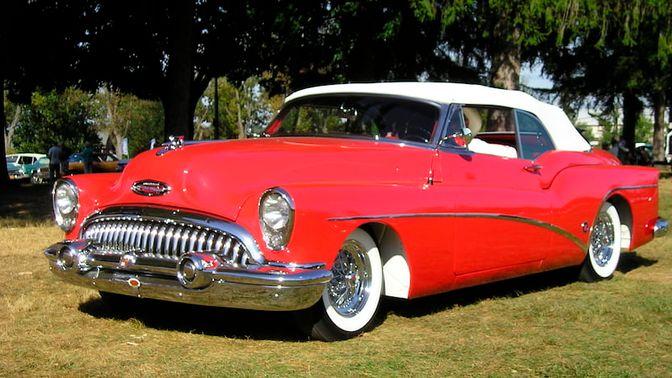 1953 Buick Skylark 145 Convertible
