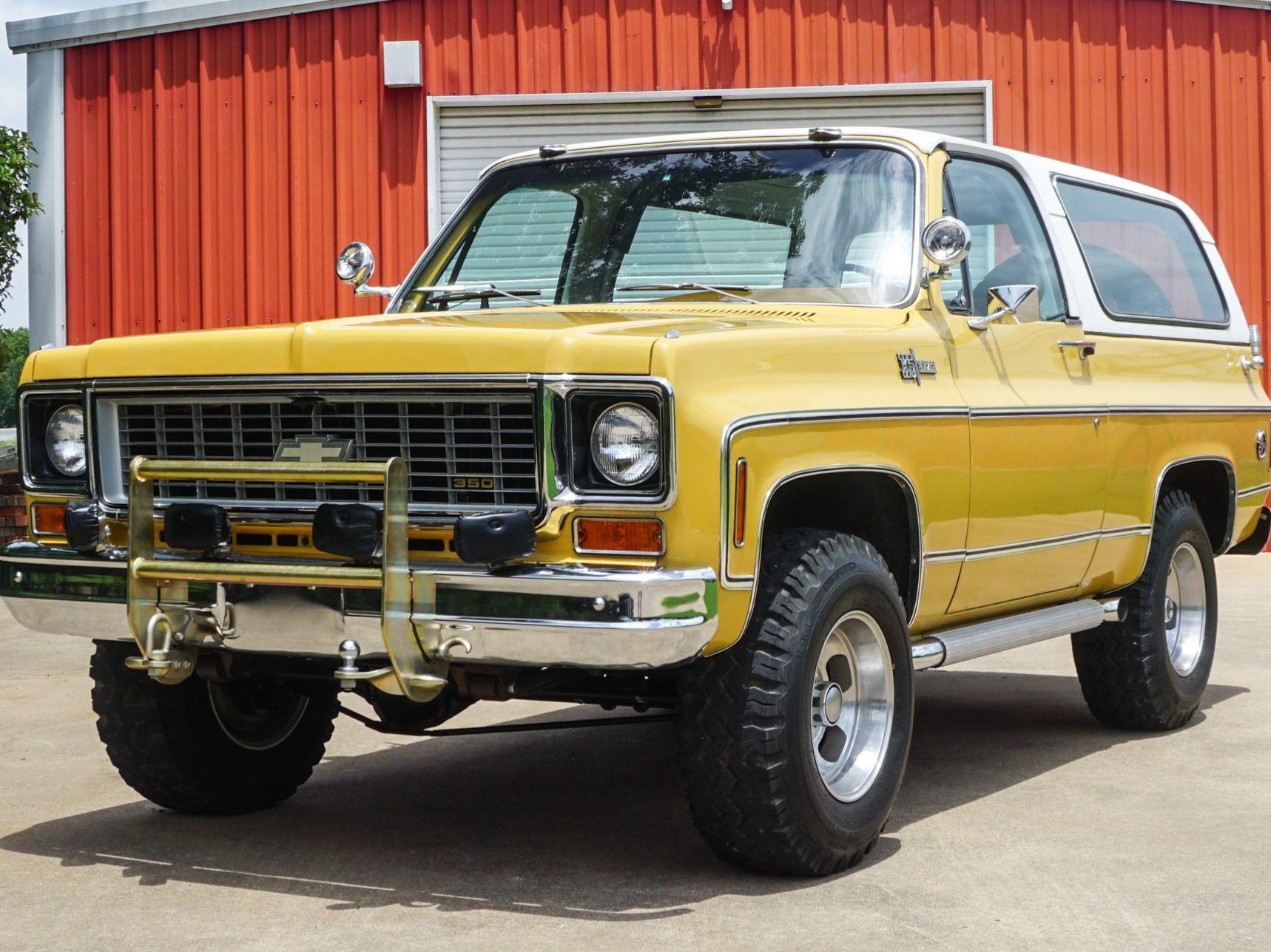 1974 Chevrolet K5 Blazer 4-Speed
