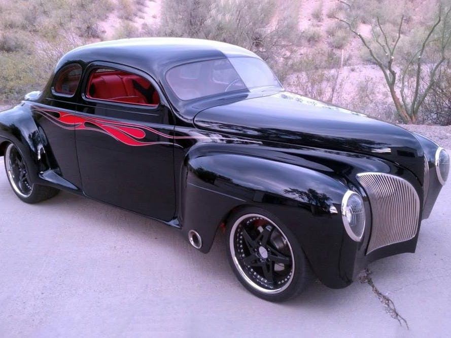 1941 Plymouth Special Deluxe Custom Coupe