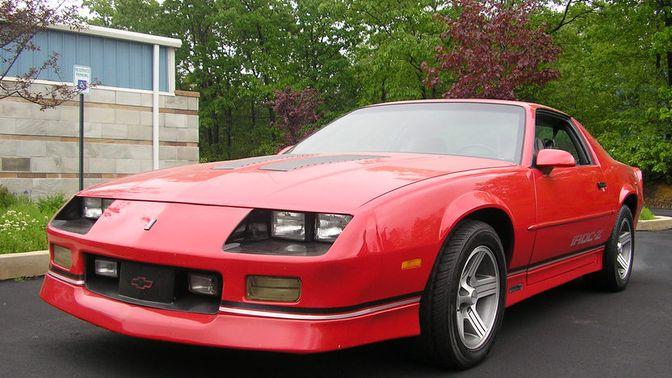 1989 Chevrolet Camaro Iroc-Z