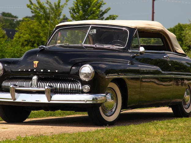 1949 Mercury Eight Convertible