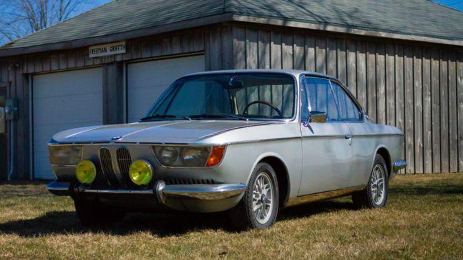 1968 BMW 2000C 4-Speed