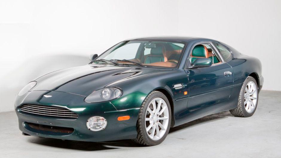 2002 Aston Martin Db7 Vantage Coupe V12 Vin Scfab223x2k302826 Classic Com