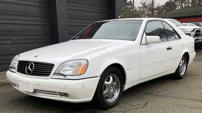 1997 Mercedes-Benz CL500