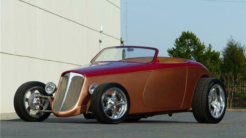 1933 Ford Hi-Boy Custom Roadster