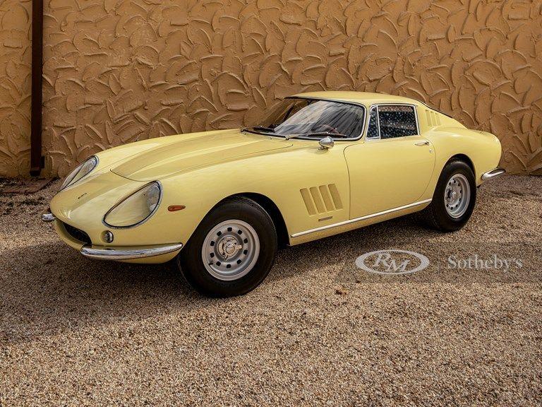 1968 Ferrari 275 Gtb 4 By Scaglietti Vin 10987 Classic Com