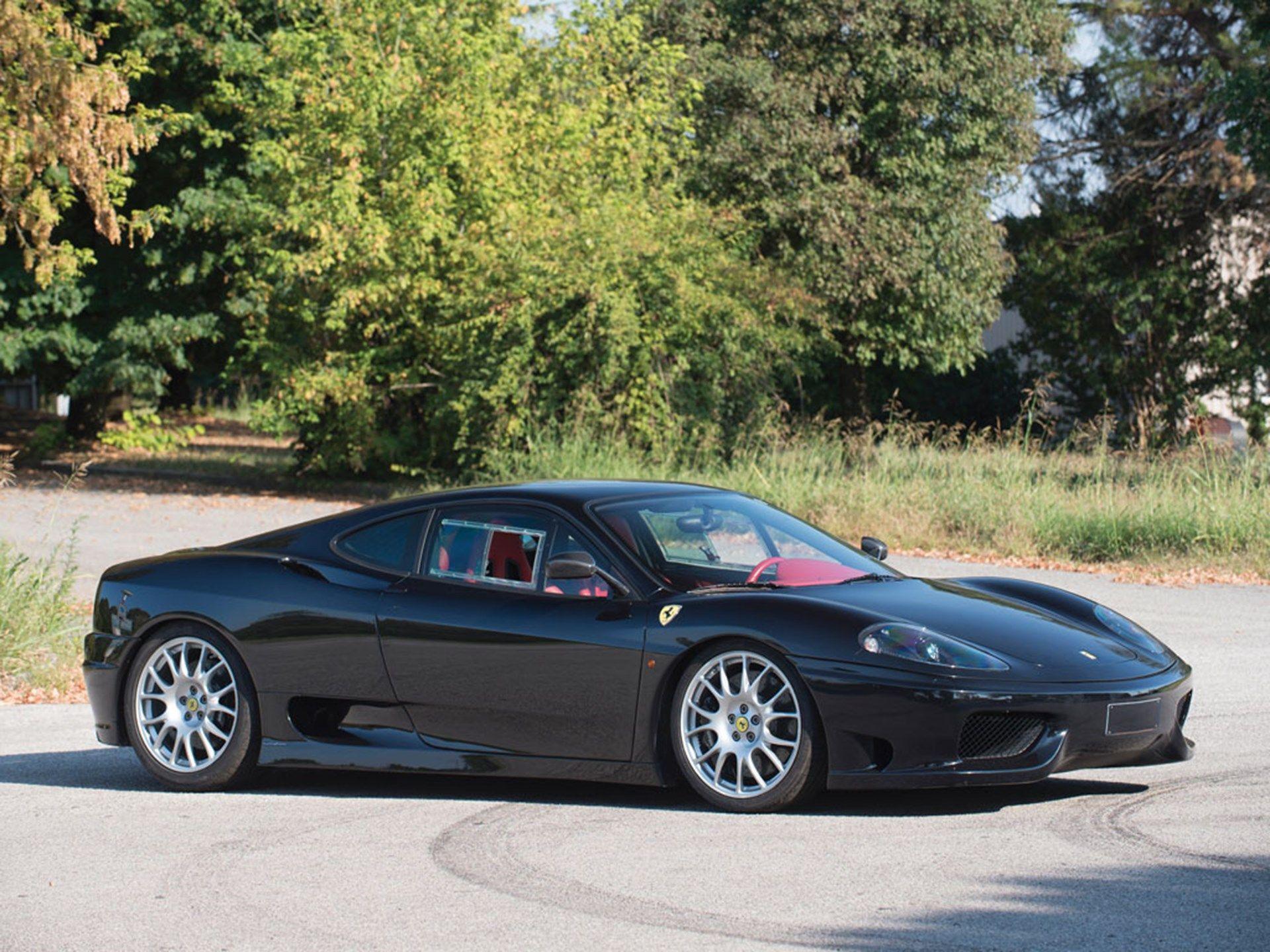 2004 Ferrari 360 Challenge Stradale Vin Zffdt57b000135696 Classic Com