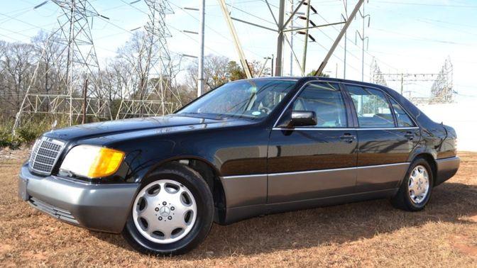 1992 Mercedes-Benz 500 SEL