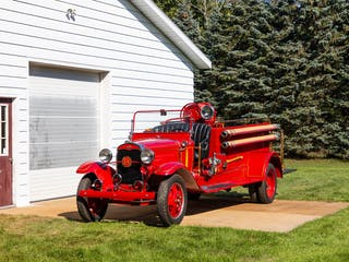 1931 Ford Aa American Fire Truck