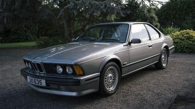 1989 BMW 635CSI Highline