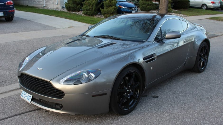 2006 Aston Martin V8 Vantage 6 Speed Vin Scfbb03bx6gc01781 Classic Com