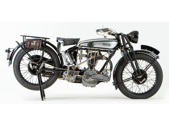 1929 Norton 490CC Model 18