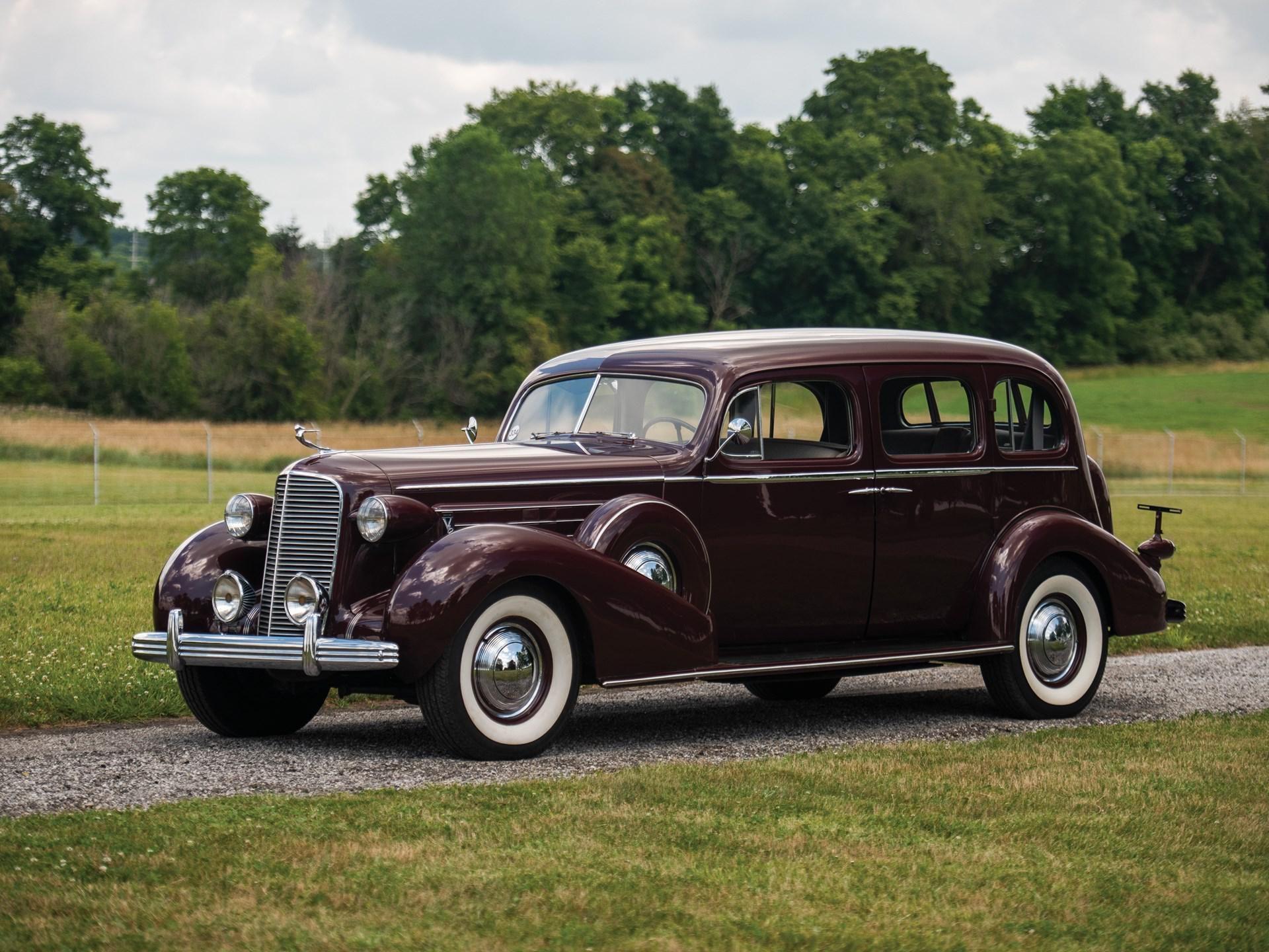 1936 Cadillac Series 85 Seven-Passenger Touring Sedan