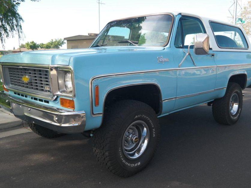 1974 Chevrolet K5 Blazer Cheyenne