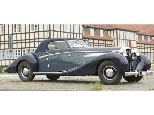 1937 Maybach SW-38 'Special Roadster'