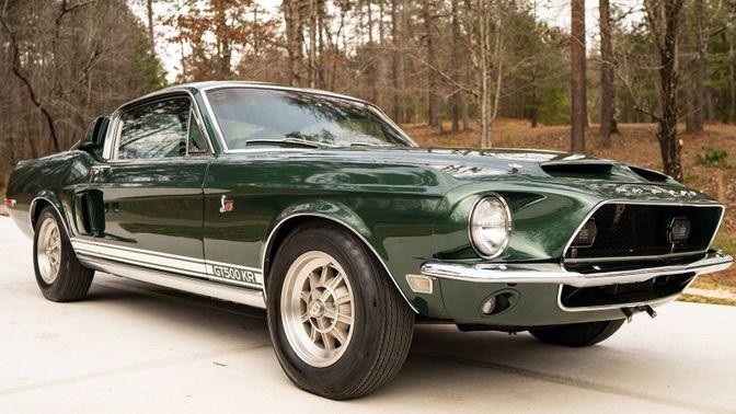 1968 Shelby Cobra Mustang GT500 KR 428 Cobra Jet