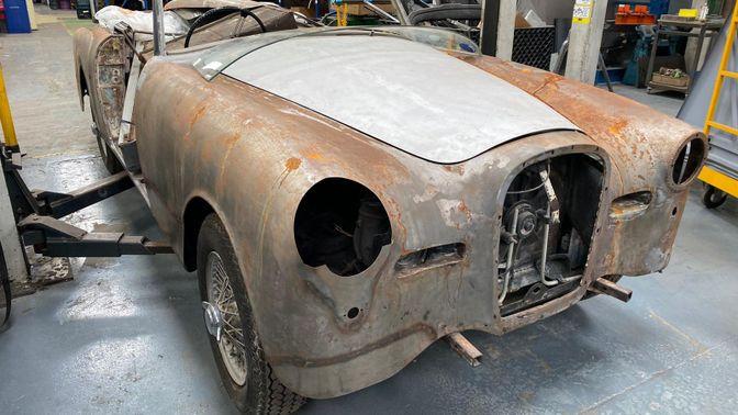 1960 Alvis TD21 Drophead Coupé