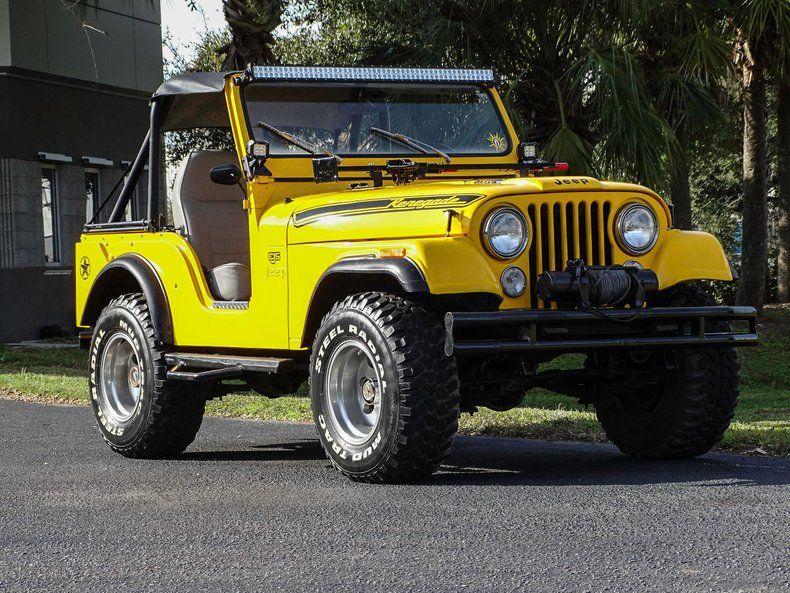 1973 Jeep CJ-5, 3 Speed