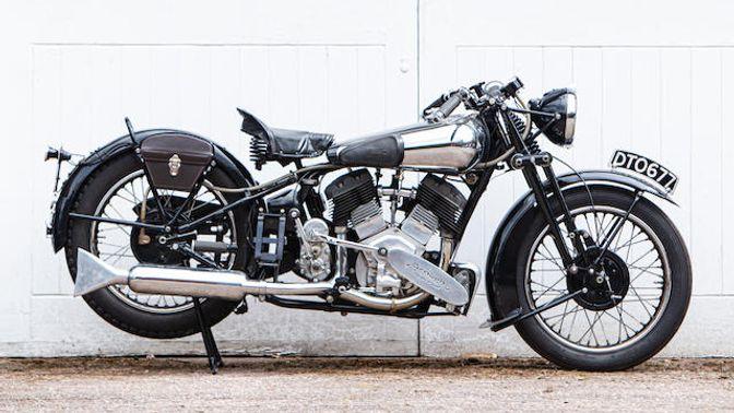 1937 Brough Superior 1,096cc 11-50HP
