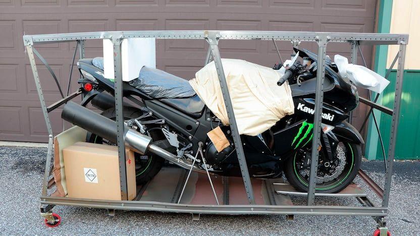 2009 Kawasaki ZX-14C Still in Crate