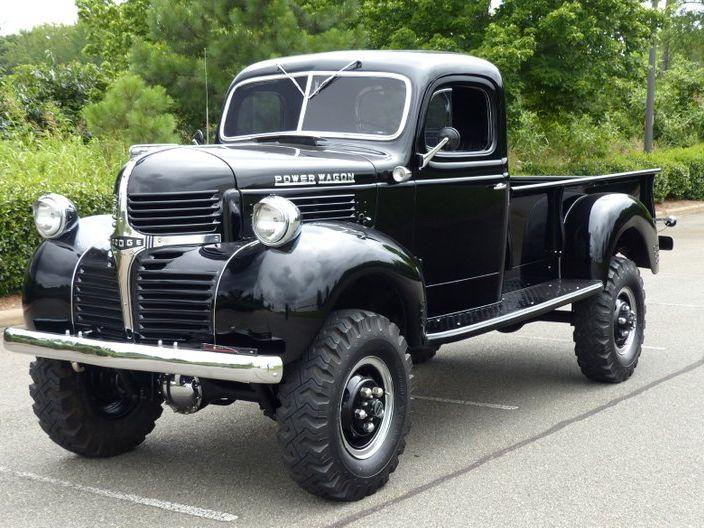 1947 Dodge WD-21 Power Wagon