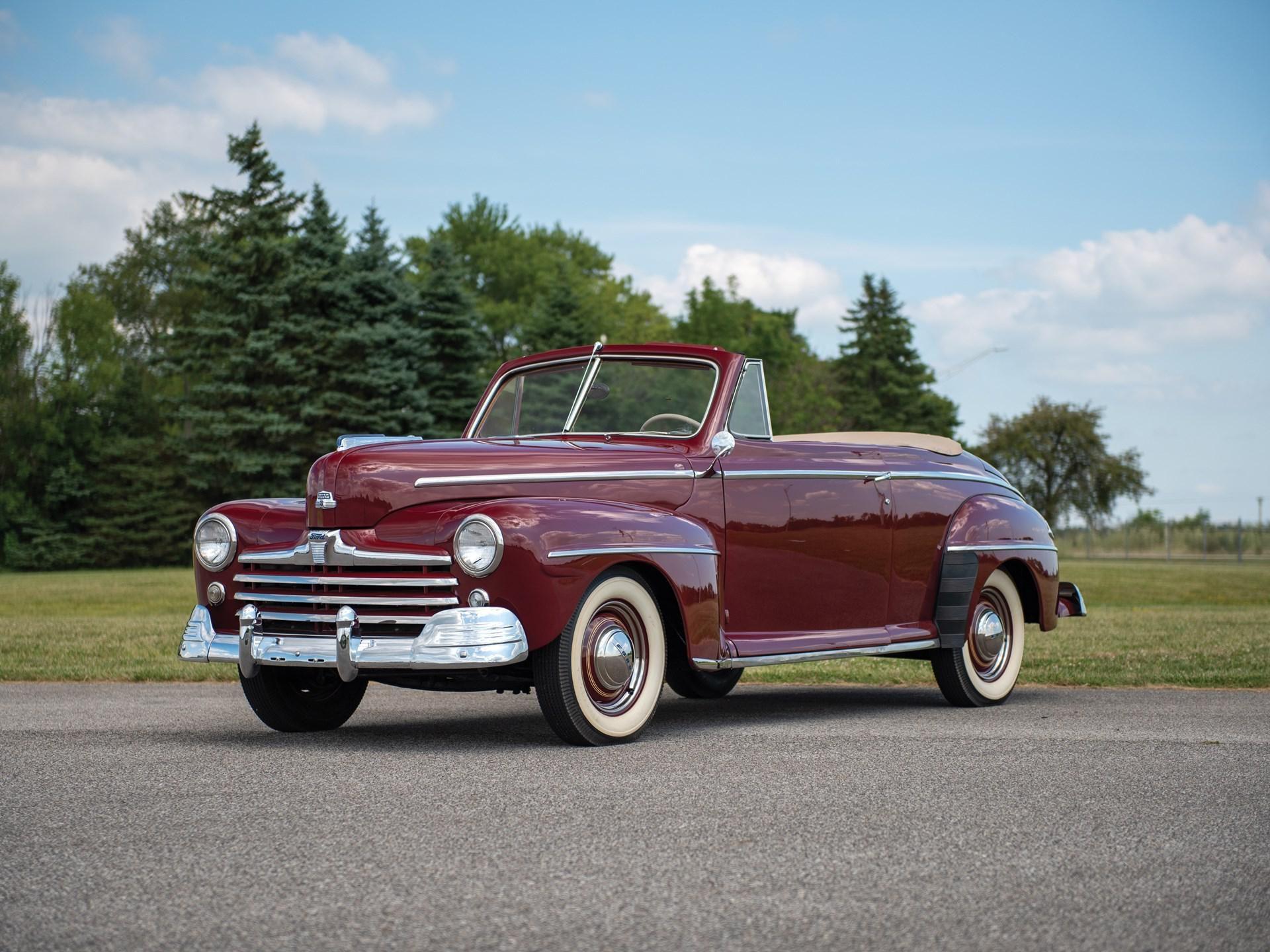 1947 Ford Super Deluxe Convertible Vin 044h4814 Classic Com
