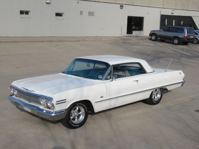 1963 Chevrolet Impala Super Sport BUCKETS-4-SPEED