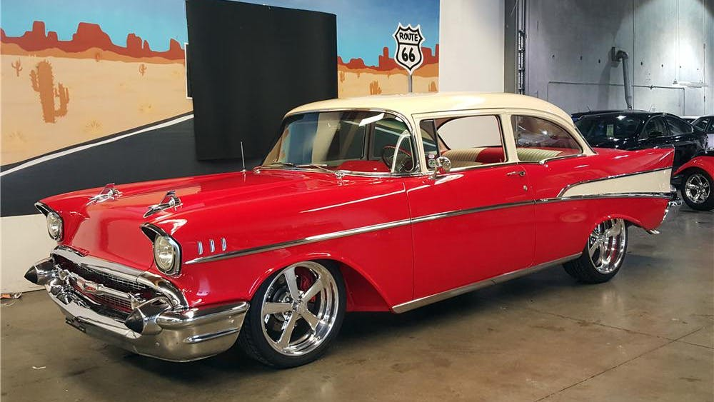 1957 Chevrolet 210 Custom 2-Door Post