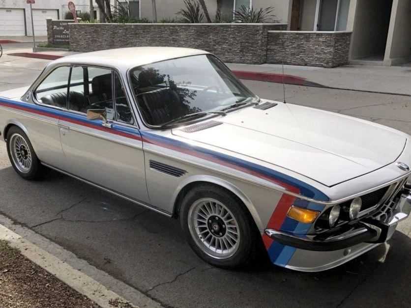 1973 BMW 3.0cs 4-Speed