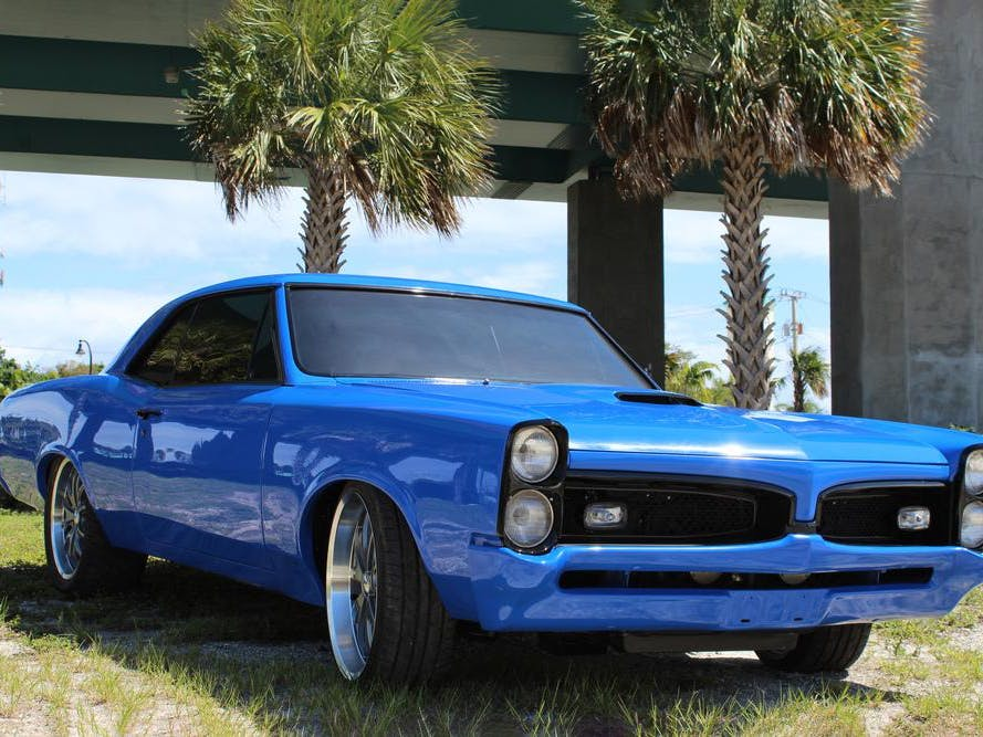 1967 Pontiac GTO Custom Coupe