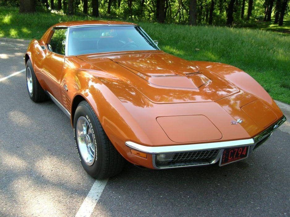 1971 Chevrolet Corvette LT1 4-Speed