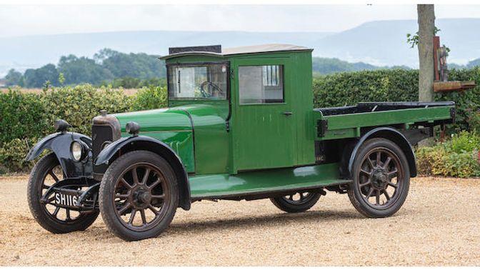 1921 Belsize Flat Lorry