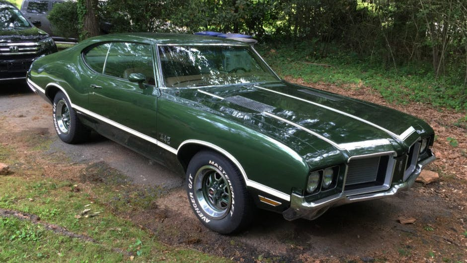 1972 Oldsmobile Cutlass Hardtop Coupe